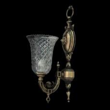 Светильник настенный (бра) из хрусталя ХН-О-2-1 Орнамент