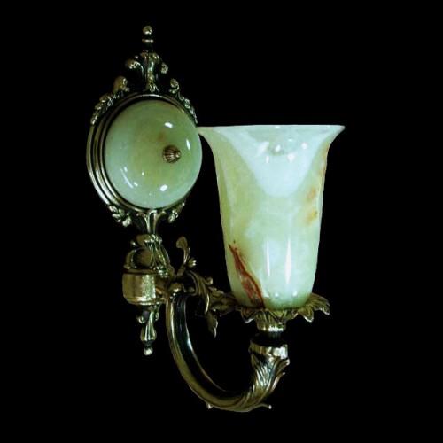 Светильник настенный (бра) из камня НК-О-20-1 А