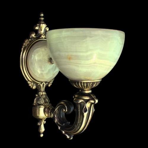 Светильник настенный (бра) из камня НК-О-20-1 ТОК (160)