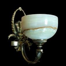 Светильник настенный (бра) из камня НК-О-27-1