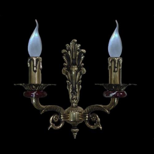 Светильник настенный (бра) из камня НК-О-28 ФВ
