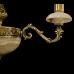 Люстра из камня НК-О-3 Муза Абажур Белый оникс