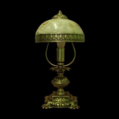 Настольная лампа из камня НК-О-02 ОВ