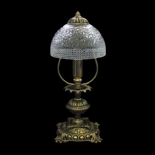Настольная лампа из хрусталя ХН-О-02 Зима