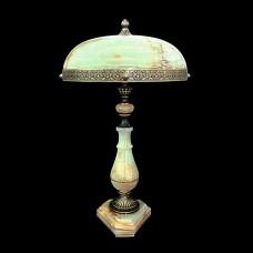 Настольная лампа из камня НК-О-21 ОВ