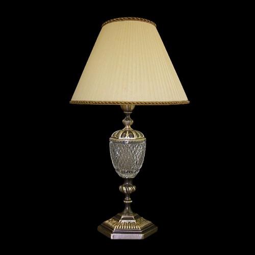 Настольная лампа из хрусталя ХН-О-35 Орнамент