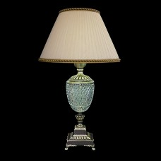 Настольная лампа из хрусталя ХН-О-38 Орнамент