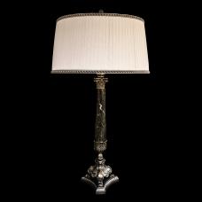 Настольная лампа из камня НК-О-40 Никель
