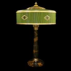 Настольная лампа из камня НК-О-46 Черный мрамор