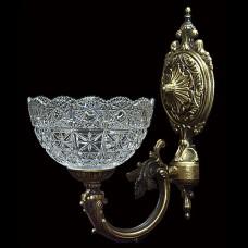 Светильник настенный (бра) из хрусталя ХН-О-20-1 Медальон